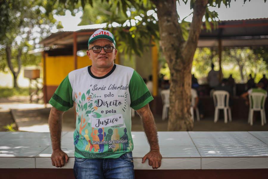 Totó, ex-presidente do sindicato e, hoje, vice. Foto: Carol Ferraz / Amigos da Terra Brasil