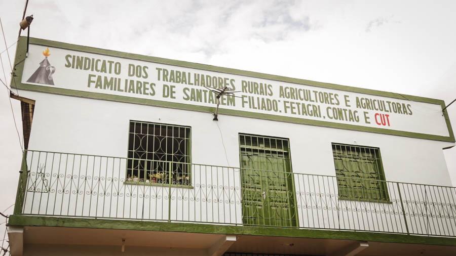 Maria Ivete foi presidenta do Sindicato Rural de Santarém entre 2002 e 2008. Fotos: Carol Ferraz / Amigos da Terra Brasil